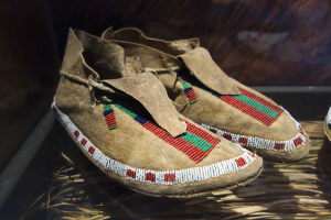 Arapaho moccasins ca. 1880-1910.