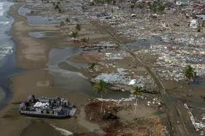 The aftermath of the 2004 Indian Ocean earthquake, 26 December 2004