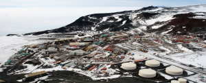 McMurdo Station, Antarctica, as seen from nearby Observation Hill
